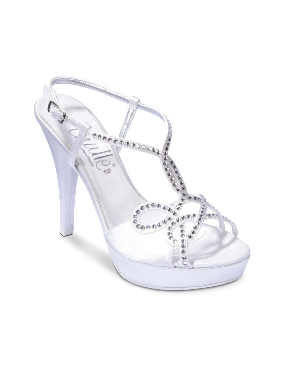 Scarpe Sposa Melluso.Th225 In Thulle By Melluso